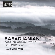 NAXOS Presents the New CD of Hayk Melikyan
